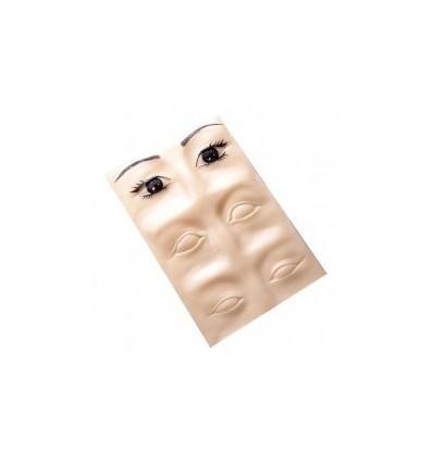 Plantilla microblading micropigmentación Cejas Ojos 3D